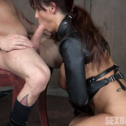 Syren De Mer in 'Insex' helpless in a straight jacket, manhandled back and forth, throated and roughly fucked! (Thumbnail 4)