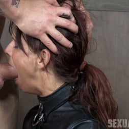 Syren De Mer in 'Insex' helpless in a straight jacket, manhandled back and forth, throated and roughly fucked! (Thumbnail 9)