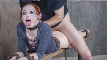 Violet Monroe - Violet Monroe BaRS Part 2: The best slut on the planet gets broken and goes into survival mode.