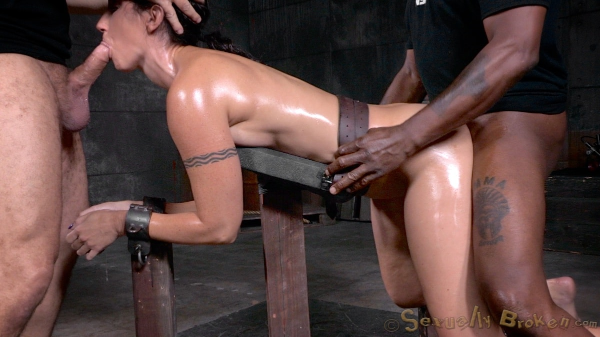 Bdsm punishing two girls in the same time using leather whip on tits 3