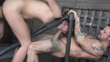 Zoey Laine - Zoey Laine BaRS Part 2: Head locked between two bars, and roughly fucked to orgasms!